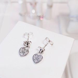 Love Locks Stud Earrings